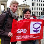 Auf dem Equal Pay Day